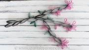 cardboard-tube-wall-art-cherry-blossom-1